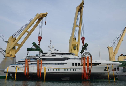 Benetti superyacht Genesis II arrives in Hong Kong