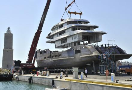 Construction update on Benetti's 70m superyacht Alkhor