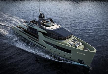 Arcadia Yachts presents 47m superyacht project