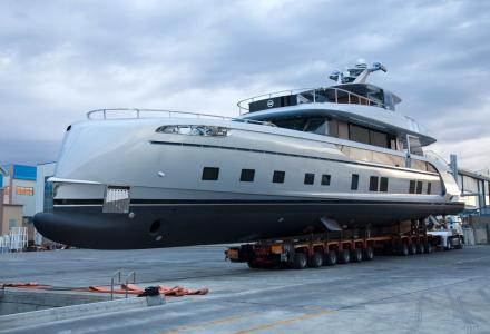 Dynamiq Yachts launches first GT115 designed by Porsche