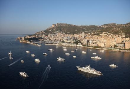 €4.5 billion worth of yachts at the Monaco Yacht Show