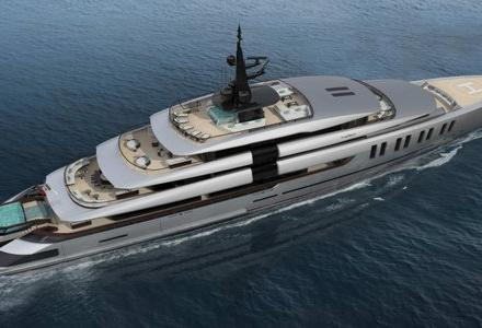 New superyacht design revealed by Oceanco