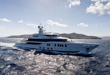 73m Plvs Vltra: a custom yacht part of a series