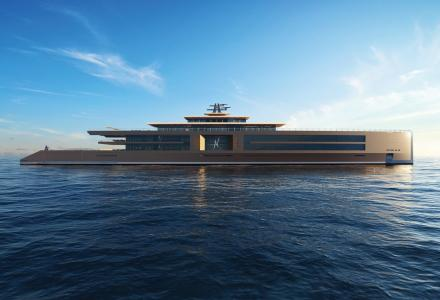 Sinot Yacht introduces 120m superyacht concept