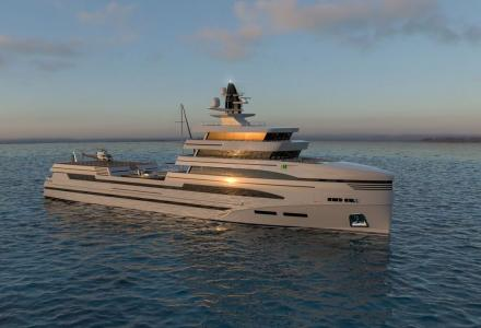 Rosetti breaks into yachting market with 85m expedition supply vessel