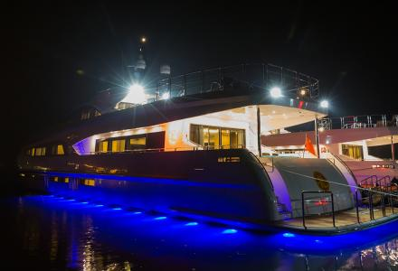 Jackie Chan takes delivery of new 38m yacht