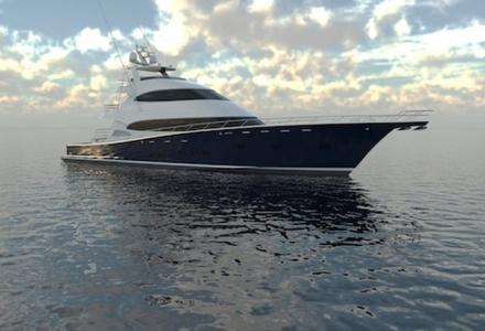 World's largest carbon sportfish yacht launched today