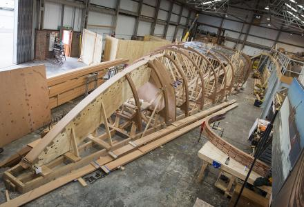 Unveiled: British S/Y Spirit 111 takes shape