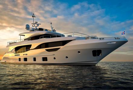Benetti Delfino 95 launched and named Christella II