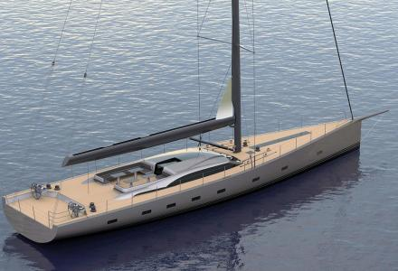 Oyster says, their new sailing yacht will be Aston Martin on water