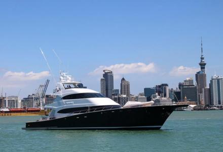 The largest sportfish yacht in the world spotted on sea trials
