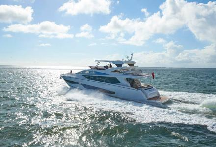 In pictures: Pearl 80 during sea trials in Miami