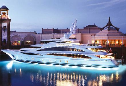 Inside John Staluppi's Bond themed superyacht fleet