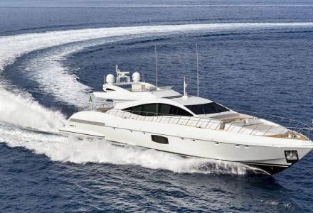 Mangusta 110 fourth hull sold to a European client