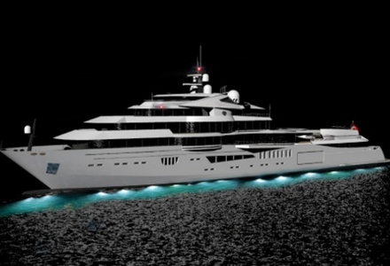 84m expedition yacht Galene concept by Mehmet Kamer Sarpkaya