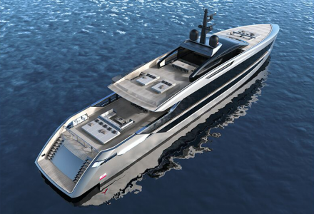 53m planing model introduced by Tankoa