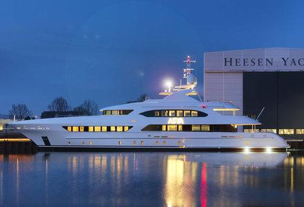 47m yacht launched by Heesen