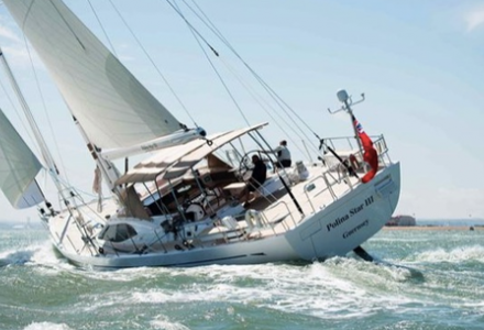 Process error in sunken yacht by Oyster Marine