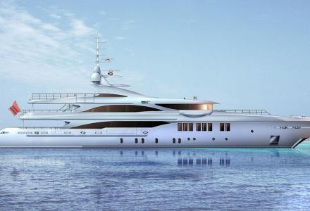 Golden Yachts 57-metre superyacht O'Mathilde is almost completed