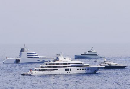 The economics of yachting: a story of efficiency