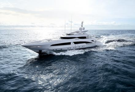50-metre Heesen yacht VanTom delivered