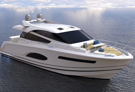New E56XO model presented by Horizon Yachts