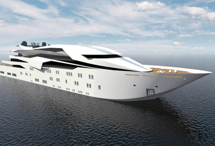 127-metre yacht Project #4