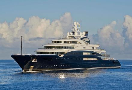 Inside the largest yacht ever sold