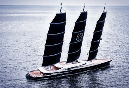 Oceanco : Black Pearl delivered