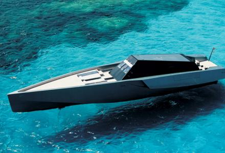 One of the fastest yachts in the world: Galeocerdo
