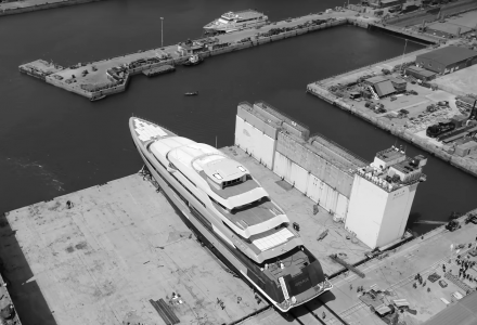 Largest superyacht ever built in China