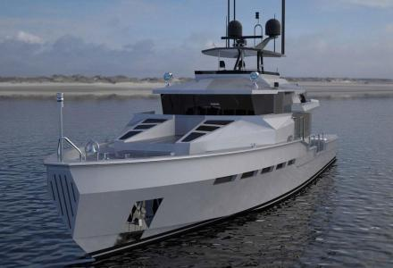 23.47-metre military-designed Tactical 77 yacht project sold