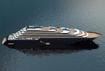 190-metre ultra-luxury cruise ship by Ritz-Carlton
