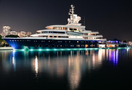 Russian billionaire to lose his $500 million 114-metre megayacht Luna in divorce battle
