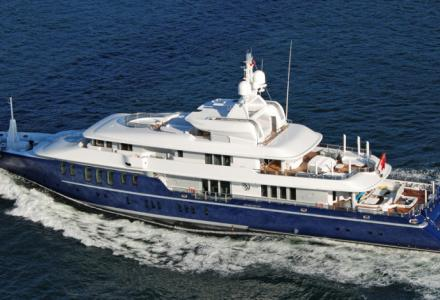 Russian billionaire lists 68-metre yacht Triple Seven for sale
