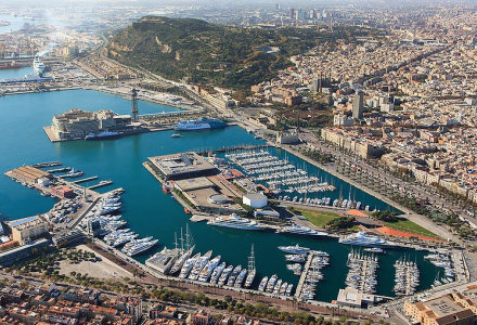 The Superyacht Show 2018 in OneOcean Port Vell, Barcelona