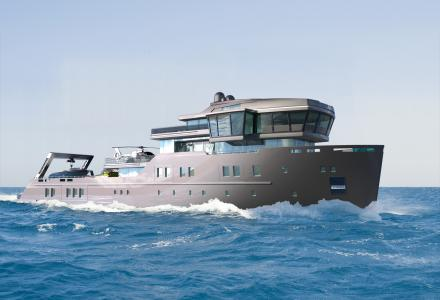 70-metre ice class explorer yacht project Ida Pfeiffer - Yacht Harbour