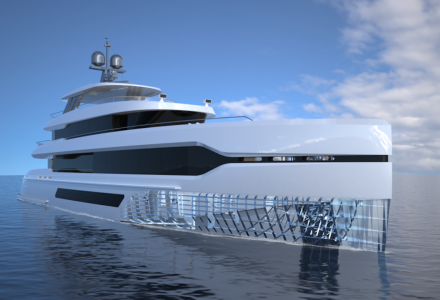 40-metre E39 yacht concept by The Yacht Professionals