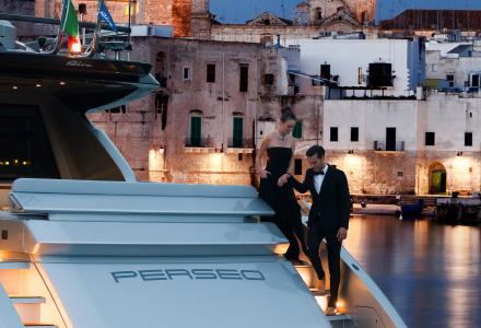 Ferretti Group on parade at the Montenapoleone Yacht Club 2018 alongside top luxury and fashion brands