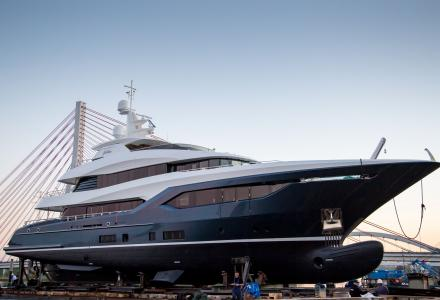 40-metre superyacht Viatoris launched by Conrad Shipyard