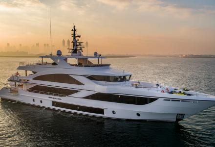 Video : Inside the 42-metre yacht Majesty 140 by Gulf Craft