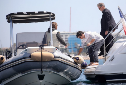Celebrities spotted on the yachts during the Cannes Film Festival