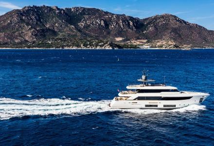 33-metre Custom Line Navetta 33 yacht Telli wins International Yacht World 'Oscar'