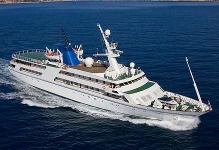 Inside Saddam Hussein's $100-million 82-metre megayacht