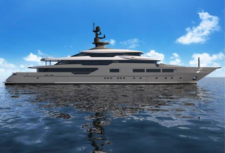 How almost completed 72-metre Tankoa S701 yacht Solo looks like?