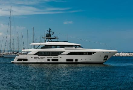 Fifth Custom Line Navetta 37 launched for the Brazilian owner