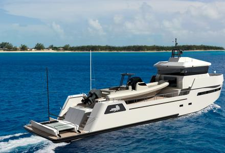 Another 27-metre YXT 24 Evolution superyacht support vessel sold