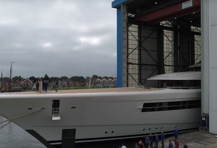 110-metre Project 1007 launched by Feadship