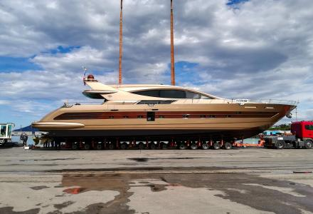 31-metre superyacht Francesca launched by CCN for an American owner