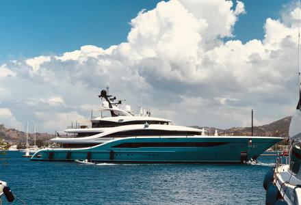 77-metre superyacht Go delivered by Turquoise Yachts